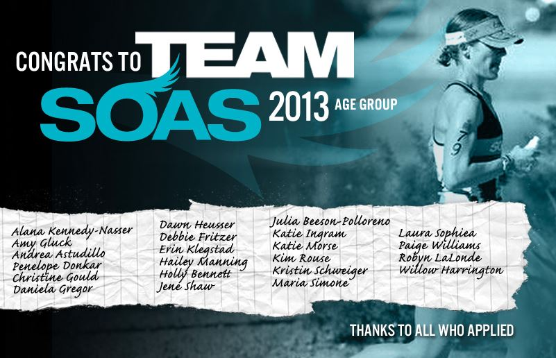 2013 Team announcement artwork